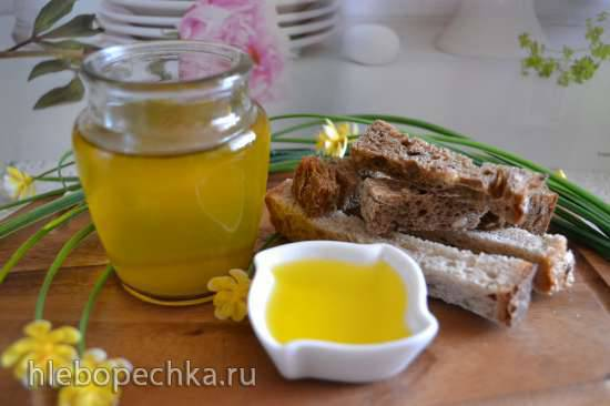 Масло горчичное, отжатое в домашнем маслопрессе