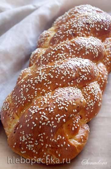 Витой сырный хлеб