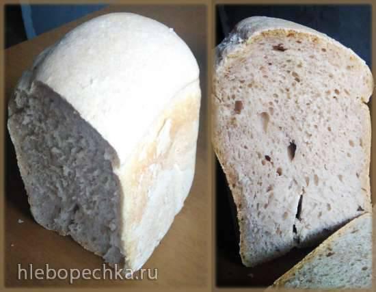 Polaris PBM 1501D. Пшеничный хлеб на закваске (режим Французский) Polaris PBM 1501D. Пшеничный хлеб на закваске (режим Французский)