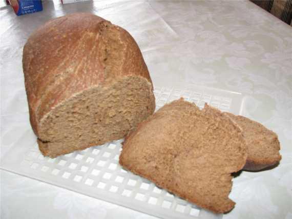 Хлеб пшенично-ржано-овсяный