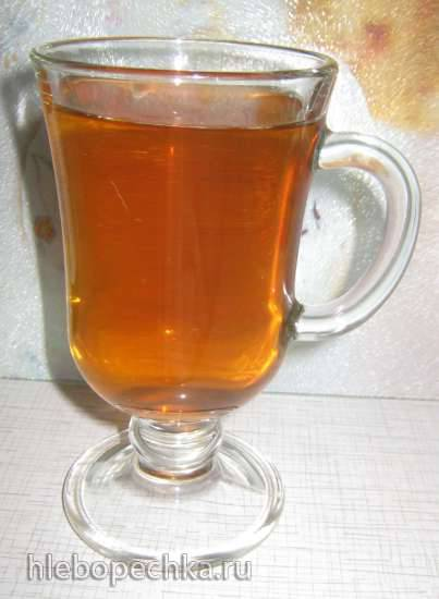 Ферментированный чай из клубничных чашелистиков Ферментированный чай из клубничных чашелистиков