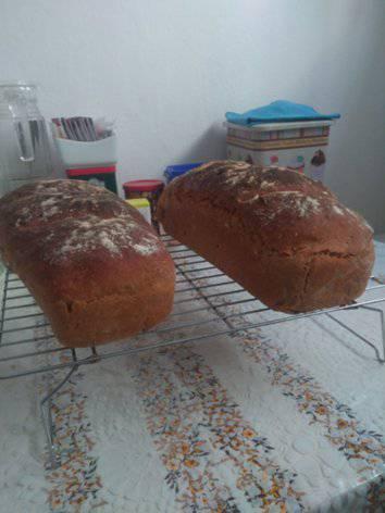 Ржаной хлеб с зернами кориандра