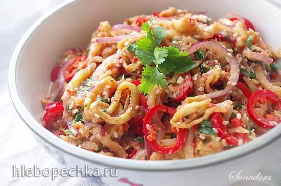 """Острые овощные """"спагетти"""" Острые овощные """"спагетти"""""""
