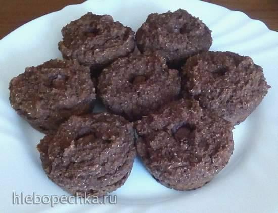 Финиковые кексы (без муки) Финиковые кексы (без муки)
