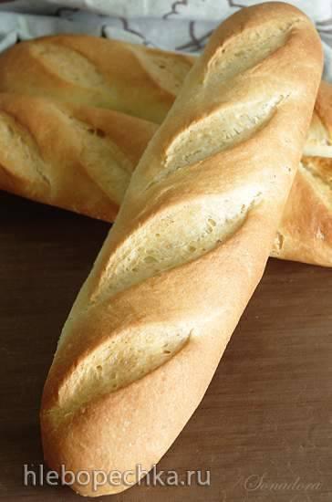 Мини-батоны с мукой из твёрдых сортов пшеницы Мини-батоны с мукой из твёрдых сортов пшеницы