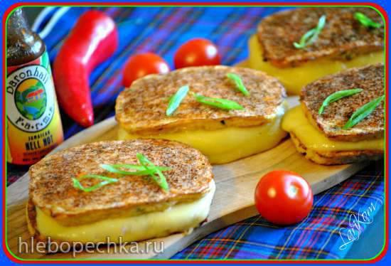 Сэндвичи без хлеба из цветной капусты