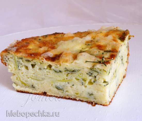Запеканка из кабачков с сыром в мультиварке Polaris 0508D floris