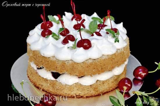 Торт-пляцок «Ореховое наслаждение»