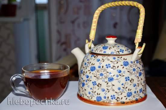 """Ферментированный чайный микс """"Мятно-ольховый оазис"""""""