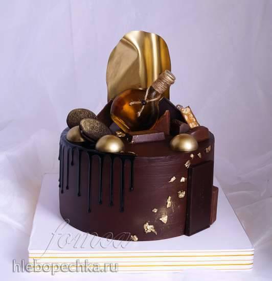 Ганаш для покрытия и выравнивания торта