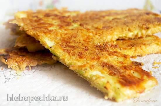 Цукини с сыром Дор Блю Цукини в сырной панировке