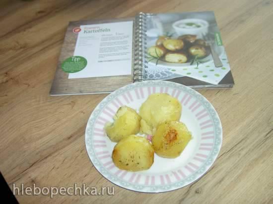 Картофель с розмарином (медленноварка)
