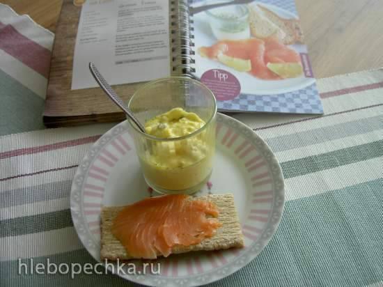 Яичница в стакане (медленноварка)