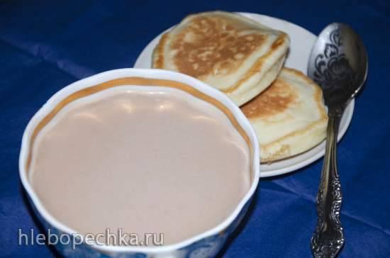 Молоко овсяное шоколадное в блендере-суповарке Endever SkyLine BS-90