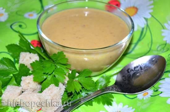 Суп-пюре кабачковый с кус-кусом и грибами в блендере-суповарке Endever SkyLine BS-90