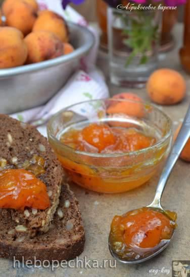 Абрикосовое варенье с апельсином и лимоном