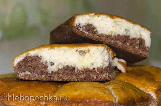 Пирог с орехами и корицей на кефире