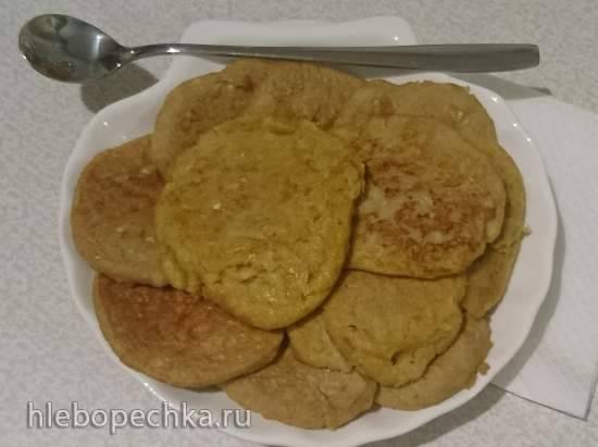 Кабачковые оладьи с толокном в пицце-печи Travola