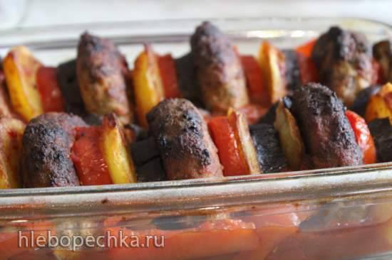 Котлеты, запечённые с овощами (Firinda pаtates kofte) Котлеты, запечённые с овощами (Firinda pаtates kofte)
