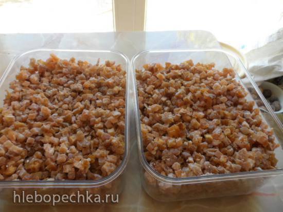 Цукаты из яблок и груш (ленивый вариант)