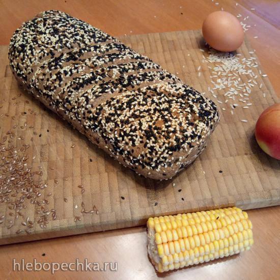 Безглютеновый рисово-льняной хлебушек