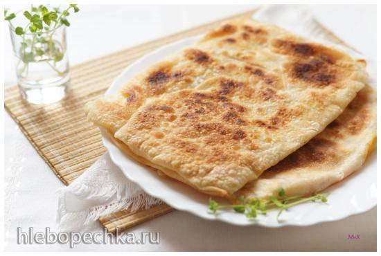 Гёзлеме с сыром Гёзлеме с сыром