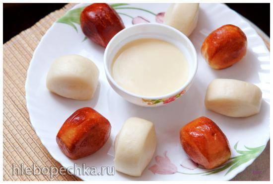 Золотые и серебряные булочки (Mantou)