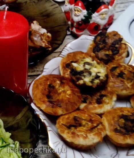 Горячая закуска по-быстрому к Рождеству в кекснице VES