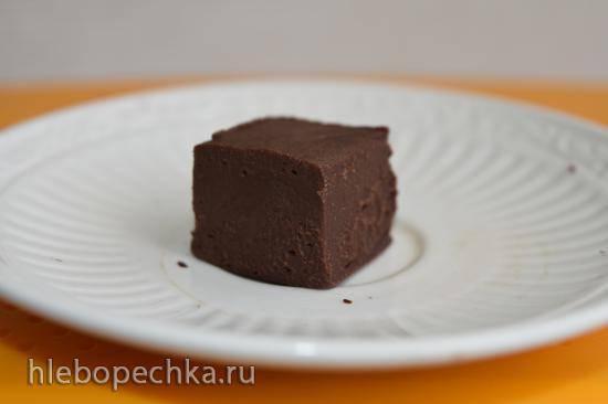 Шоколадная помадка из варёной сгущёнки и Нутеллы