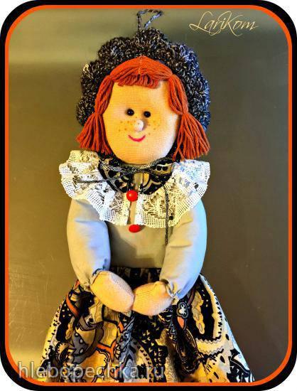 Кукла - накопитель полиэтиленовых пакетов