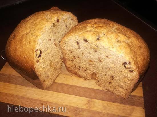 Кекс-коврижка с отрубями в хлебопечке