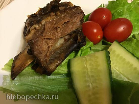 Ленивые рёбра «барбекью» (говядина) в медленоварке Кенвуд