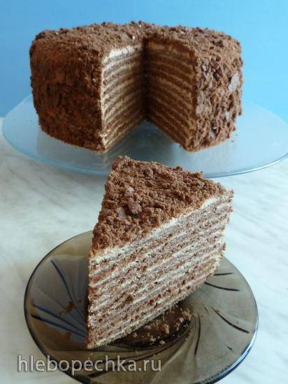 Торт Шоколадный мёд