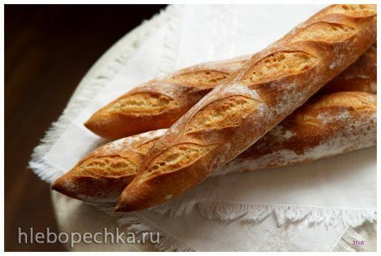 Испанские хлебные батончики (Barras de pan) от Ибана Ярзы