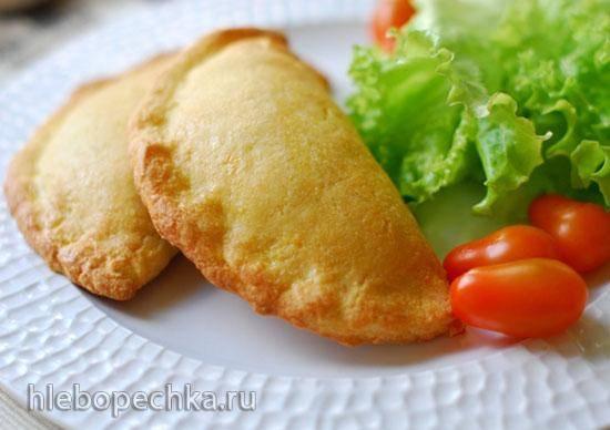 Пироги с зеленью и фетой низкоуглеводные