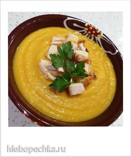 Суп из чечевицы в мультиварке Panasonic