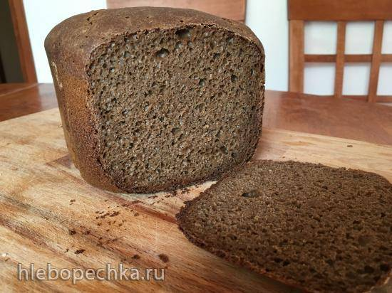 Ржано-пшеничный на закваске с медом и солодом в Panasonic 2511