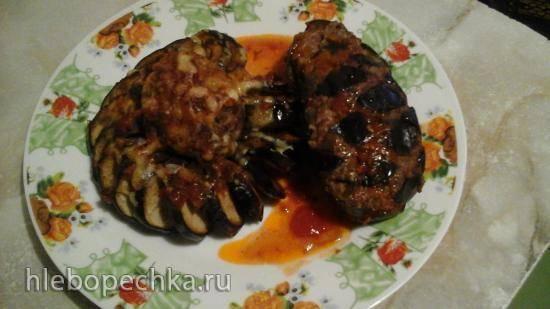 Баклажаны с маслом по-армянски (запеченные на огне или в духовке)