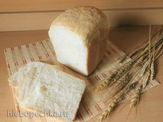 Пшеничный хлеб на сыворотке в хлебопечке  Panasonic SD-2510