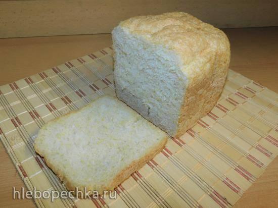 Кукурузный хлеб в хлебопечке Panasonic SD-2510