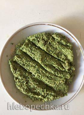 Аджика из зеленного перца с семечками