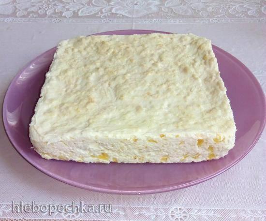 Курино-творожное суфле с тыквой для детского и диетического питания