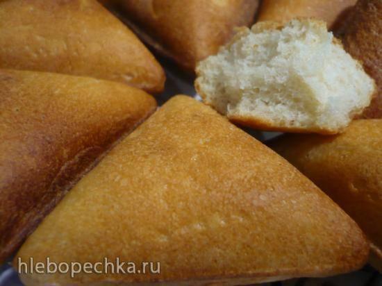 Хлебушки из сухих картофельных хлопьев и картофельного отвара (Samboussa maker)