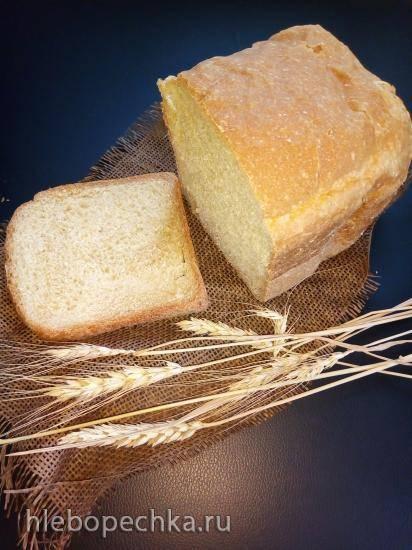 Пшеничный хлеб с содой в хлебопечке Panasonic SD-2510
