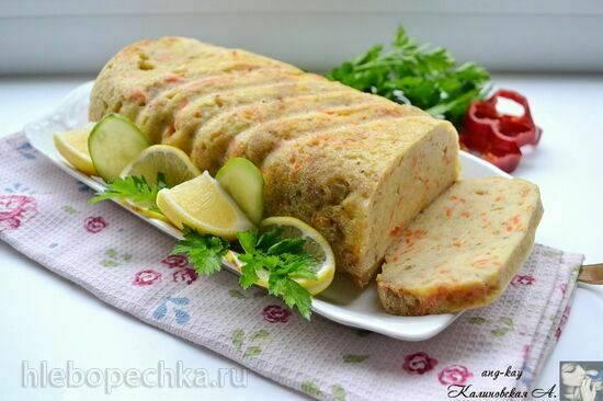 Рыбный рулет (Fish loaf)