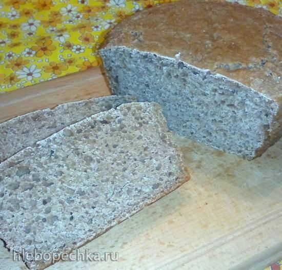 Цельнозерновой дрожжевой хлеб на сыворотке