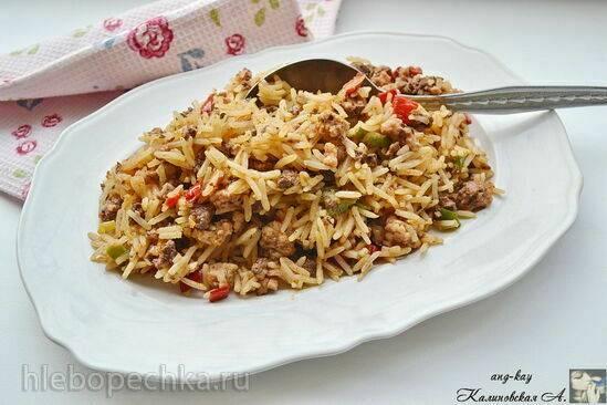 Грязный рис из Луизианы ( Louisiana Dirty rice)