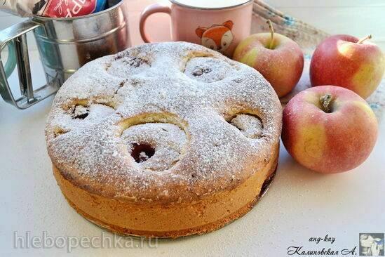 Хемпшерский пудинг с яблоками