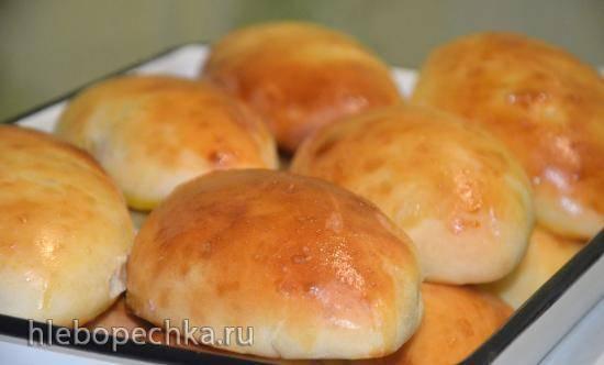 Тесто пирожковое на картофельно-хмелевых дрожжах