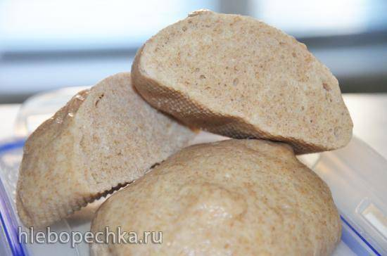 Хлеб паровой по мотивам китайских булочек маньтоу